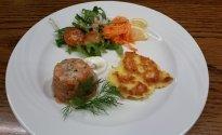 Ostermenü im Restaurant des Hotel zur Post in Altenahr