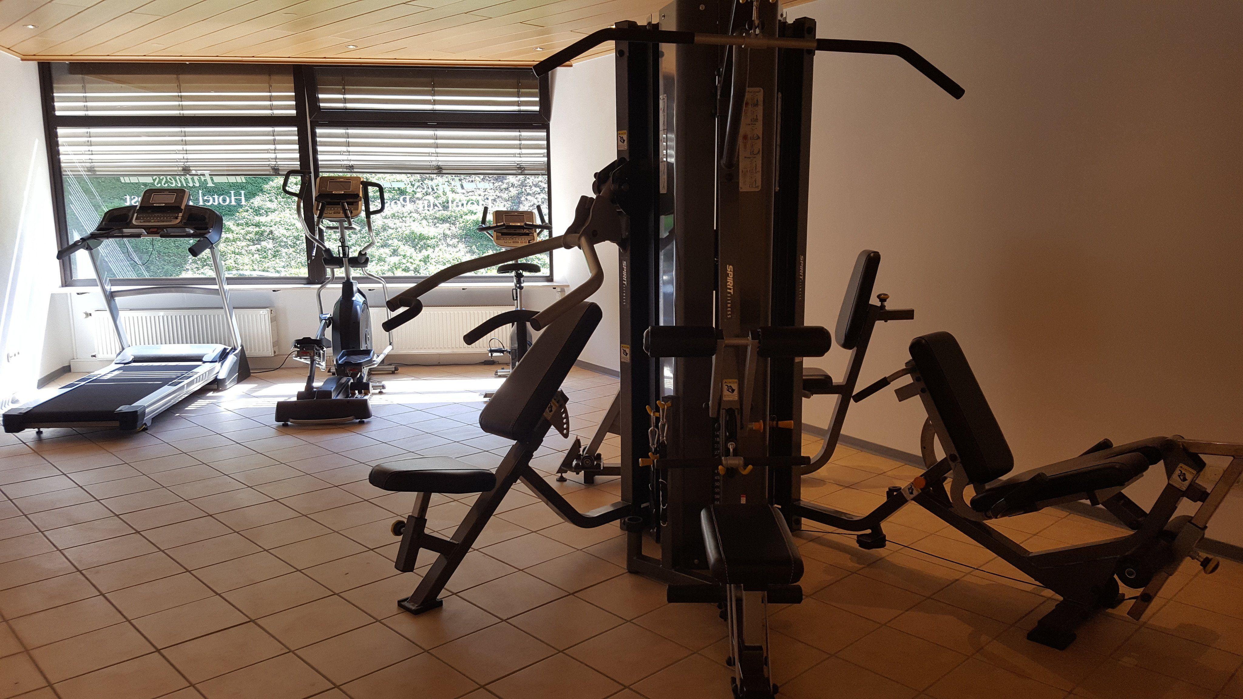 Fitneßgeräte im Hotel zur Post in Altenahr